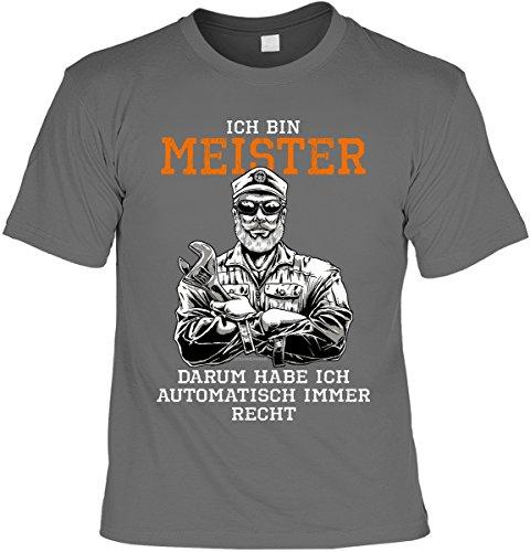 Ich bin nur zum Saufen hier I Sprüche I Fun I    bis 5XL Herren T-Shirt GmbH