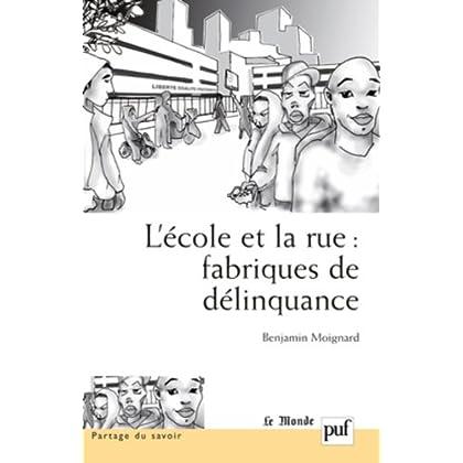 L'Ecole et la rue : fabriques de délinquance : Recherches comparatives en France et au Brésil