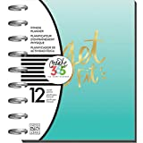 Me & My Big Ideas PLNT-05 Create 12-Month Planner, Multi-Colour, 7.25 x 9.75-Inch (undated calendar)