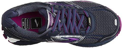 Brooks Adrenaline Asr 11, Chaussures de running femme Noir (Indigo/Midnight/Purple)