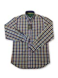 Paul & Shark Yachting Shirt in Multi Colour Check Patte Size 15.5 Cotton
