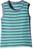The Children's Place Baby Boys'  Striped Tank Top (2060906_Tidal_18-24M)