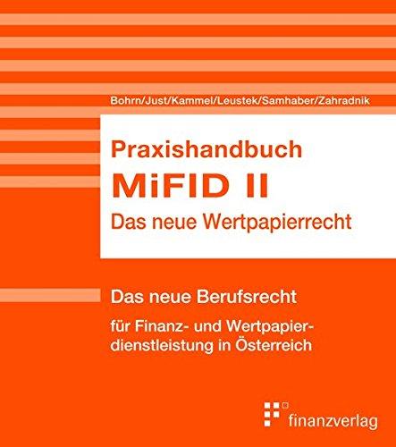 Praxishandbuch MiFID II: Das neue Wertpapierrecht