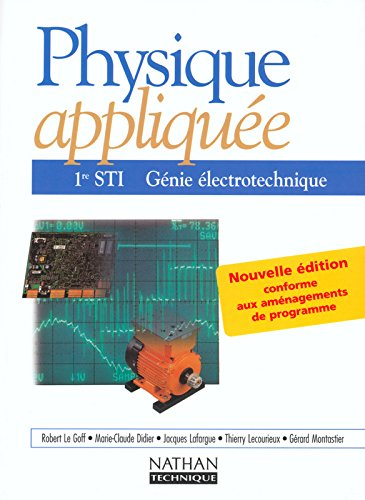 Physique appliquee  gnie lectrotechnique 1re sti eleve 2002