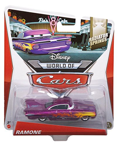 Disney Pixar Cars Diecast Purple Ramone