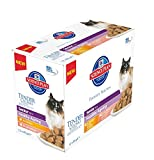 Hill's Science Plan - Cat Feline Pouches - Wet Food - Senior 11+ Chicken & Salmon in Gravy (24 Pouches)