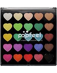Bulary Palette de Maquillage Fard à Paupières Pailleté / Matte 25Couleurs Eyeshadow