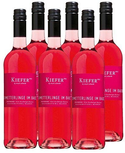Schmetterlinge im Bauch - Kiefer - rosé - feinherb - 12,4 %vol. - 6er Paket