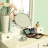 Songmics® 10 fach Kosmetikspiegel 8 inch Schminkspiegel doppelseitiger Standspiegel BBM006 - 3
