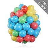 200 Stück HSM Bälle für Pop Up Bällebad Spielhaus Kinderzelt Baby Spielzelt Babypool ø 5,5 cm