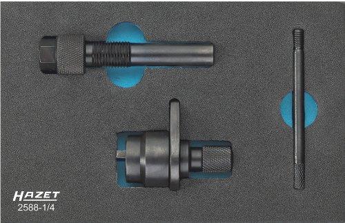 Preisvergleich Produktbild Hazet Motoreinstell-Werkzeug mit Steuerkette, Anzahl Werkzeuge: 4, 1 Stück, 2588-1/4