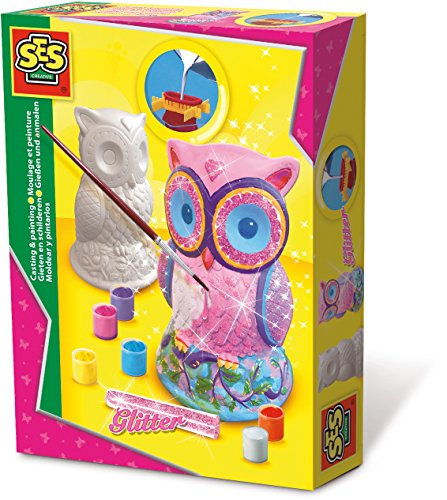 SES Creative - Mold and Paint, Owl (01285)
