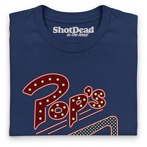 Inspired by Riverdale - Pop's Chock'lit Shoppe Langarmshirt, Herren Dunkelblau