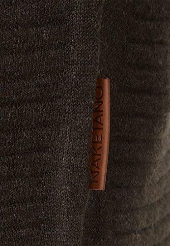 Naketano Male Knit Zapzarap Zip Zap V Green Melange