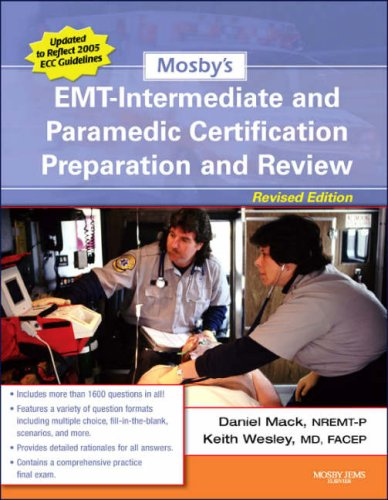Mosby's Emt-intermediate and Paramedic Certification Preparation and Review PDF Books