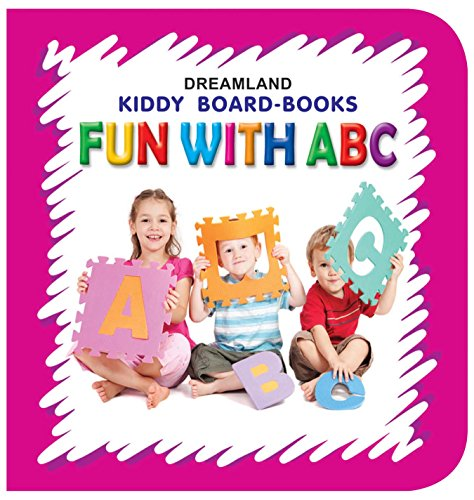 Kiddy Board Book - Fun With ABC (English Edition)