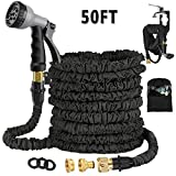 Avyvi 50FT Expandable Garden Hose Pipe,Flexible Expanding Magic Hose With Multi Spray Watering