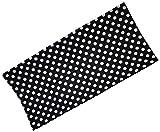Immerschön Multifunktionstuch - Punkte schwarz-weiß - Multi-Schal Multi-Tuch Schlauch-Schal Schlauch-Tuch Chemo-Mütze Halstuch Stirnband Loop Loop-Schal Multiscarf RS 24