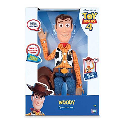 Toy Story Figura Woody con voz 40 cm (BIZAK 61234071)