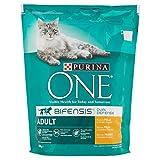 Purina Alimento Completo per Gatti Adulti, Ricco in Pollo e Cereali Integrali - 800 gr