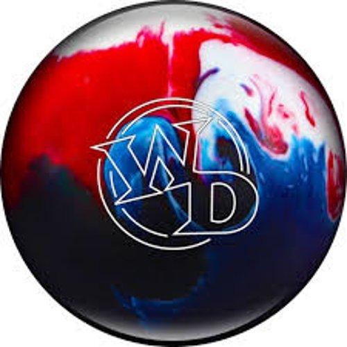 Columbia 300 White Dot Bowling Ball, Patriot Sparkle, 9 lb
