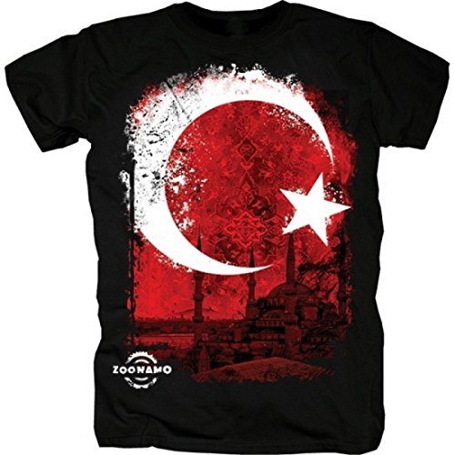 Zoonamo Türkei Classic Shirt schwarz L (Türkei Shirts)