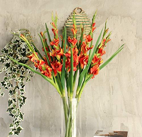 Fanxieast PU Künstliche Blumen – Hausdeko Garten Blumengesteck Urlaub Kleid Leben Finishing Touch