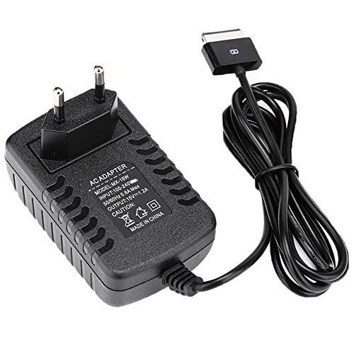 ASHATA Alimentatore Tablet AC 15V 1.2A per ASUS EEE Pad Transformer TF201 TF101 TF300 TF300T TF700 TF700T SL101