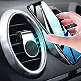Womdee Handyhalterung Auto Handyhalter, Universal Auto Air Vent Halterung für magnetische Telefone 360 Grad Handy GPS Halter, Mini 2019 Aktualisierte Version für jedes Smartphone