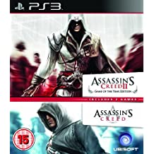 Assassin's Creed 1 & 2 - Ubisoft Double Pack (PS3) [Importación inglesa]