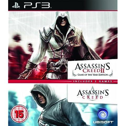 Assassin's Creed 1 & 2 - Ubisoft Double Pack (PS3) [Importación inglesa]