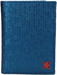Cartera para Hombre Munich Party con portamonedas- Color: Azul (8,5 x 11,5 cm)