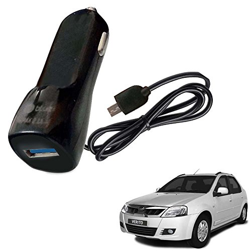 Vheelocityin Bluei 6 Month Warranty Car USB Charger Fast Charging USB Charger For Mahindra Verito