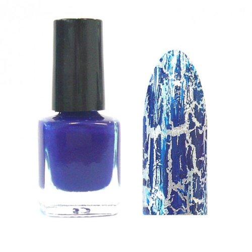 xxl-cosmetic Crackle Polish Nagellack Blau # CL-6