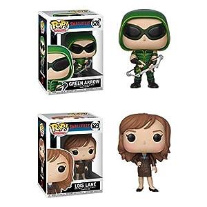 FunkoPOP Smallville Green Arrow Lois Lane Stylized TV Vinyl Figure Bundle Set NEW