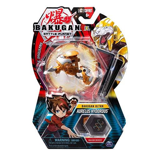 BAKUGAN Deluxe Ultra 1 Pack 3 Inch Figure Aurelus Hydorous