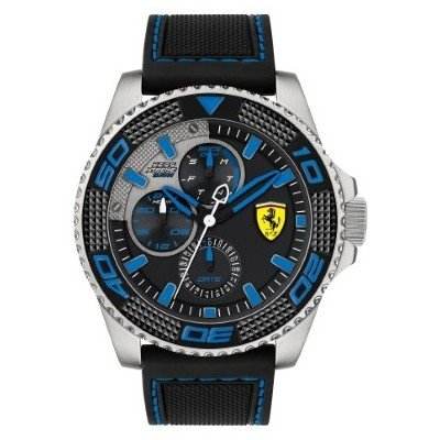 Men Multifunction Scuderia Ferrari Watch Kers Xtreme Sports COD. fer0830468