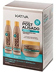 Kativa Post AlisadoKit Shampooing, après-shampooing et masque sans sel3 x 250ml