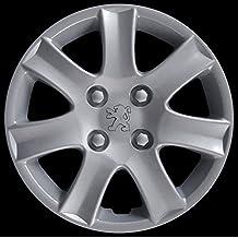 Automotive - Juego de 4 tapacubos adaptables para coche. No originales