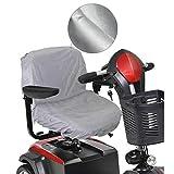 Housse de siège de scooter, Housse de siège de fauteuil roulant motorisé Oxford...
