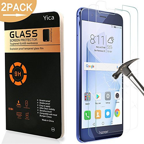 Honor 8 Pellicola Protettiva, Yica 2 Pack