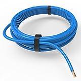 AUPROTEC® Fahrzeugleitung 6,0 mm² FLRY-B als Ring 5m oder 10m Auswahl: 10m, blau