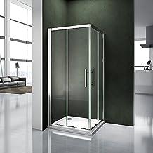 Amazonfr porte de douche coulissante 90x90 for Porte douche 90x90