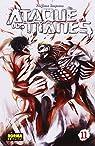 Ataque a los titanes 11 par Isayama