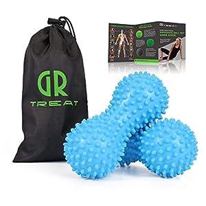 Guard Revival Treat Igelball Massageball Satz Von 2 Selbstmassagewerkzeug Fr Fe Plantar Fasciitis Behandlung Triggerpunktmassage Muskelverspannungen Lindern