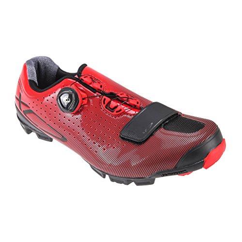 Shimano Herren Shxc7oc430sr00 Straßen Radschuhe, Rot (Red), 43 EU (Schuhe Für Den Radsport Straße)