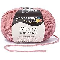 Schachenmayr  Merino Extrafine 120 9807552-00129 rose pink Handstrickgarn, Schurwolle