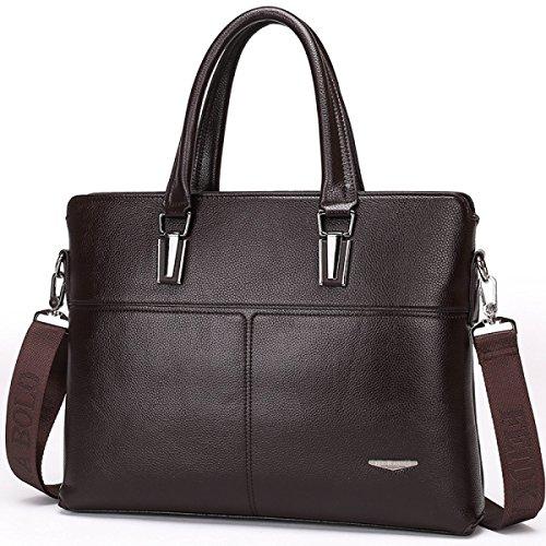 Männer Handtaschen Umhängetasche Diagonal Paket Aktenkoffer Computer Tasche A