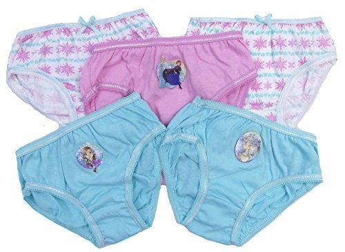 6er-pack Mädchen Slip Kinder Unterhose Unterwäsche Frozen Anne Elsa