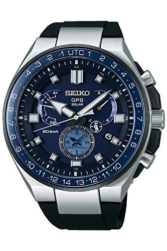 With Bracelet Analogue Watch Silicone Sse167j1 Astron Mens Solar Seiko QxshrdBCt